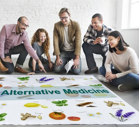 complementary therapy: Alternative Medicine Health Herb Therapy Concept