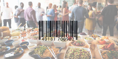 encryption: Bar Code Data Identification Encryption Concept