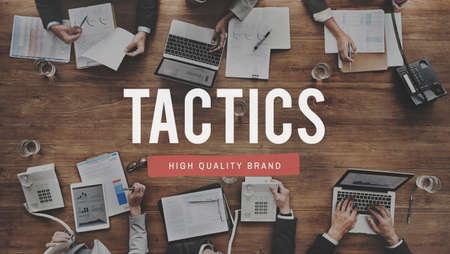 tactical: Tactics Strategy Planning Tactical Organizatioin Concept Stock Photo
