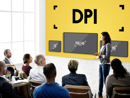 place to learn: Dots Per Inch Resolution Pixel Monitor Digital Art Concept