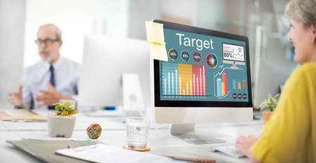 marketing target: Target Strategy Vision Mission Marketing Concept