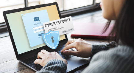 Cyber Security Firewall Privacy Concept