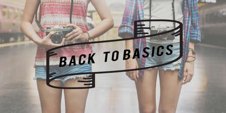 basics: Back to Basics Old School Original Classic Vintage Concept