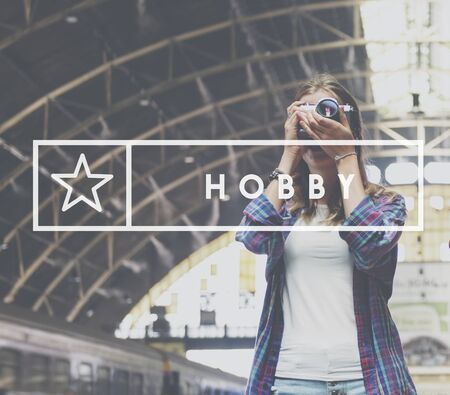 hobbies: Hobbies Hobby Interests Recreation Concept Stock Photo