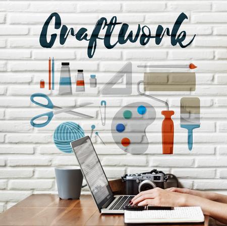 Artisanales Arts et métiers Idées Artistique Concept
