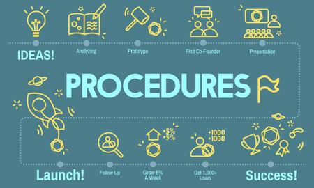 approach: Procedures Action Approach Process Technique Concept