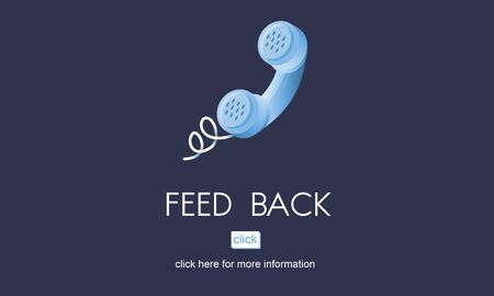 feed back: Feed Back Answer Communication Reply Report Concept