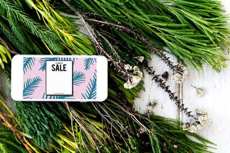 mega phone: Sale Shopping Discount Promotion Consumer Concept Stock Photo
