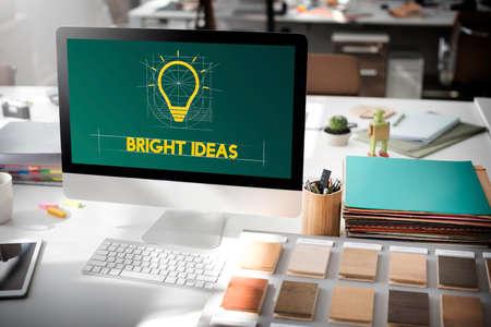 inventiveness: Ideas Think Innovation Creative Imagination Concept