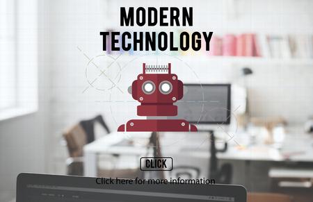 robotics: Robot Cyborg AI Robotics Android Concept