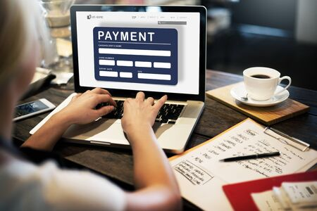 epayment: Payment Electronic E-commerce Credit E-payment Concept Stock Photo