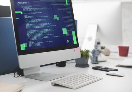 Php Programming Html Coding Cyberspace Concept Фото со стока - 59905972