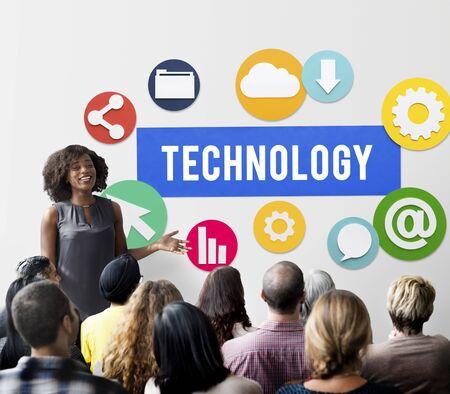 net meeting: Technology Www Network Graphics Concept
