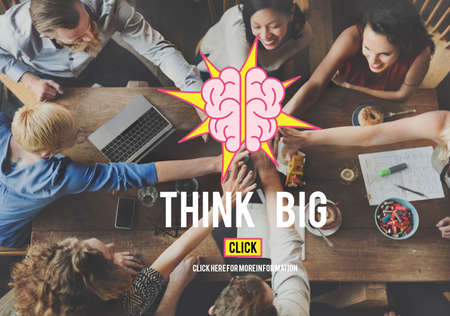 think big: Think Big Thinking Ideas Vision Concept