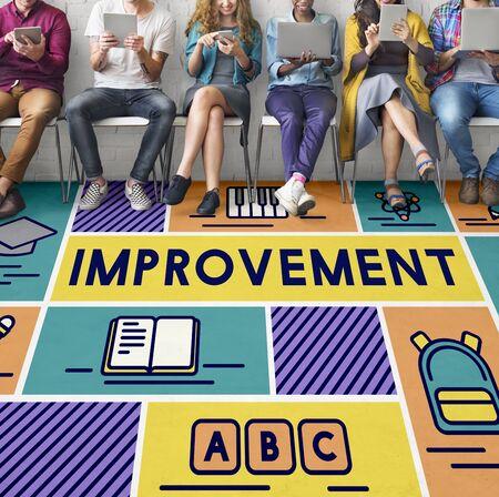 potential: Improvement Adcance Motivation Potential Education Concept