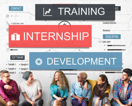 internship: Internship Training Development Business Knowledge Concept