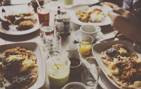 restuarant: Food Lunch Meal Celebration Restuarant Concept