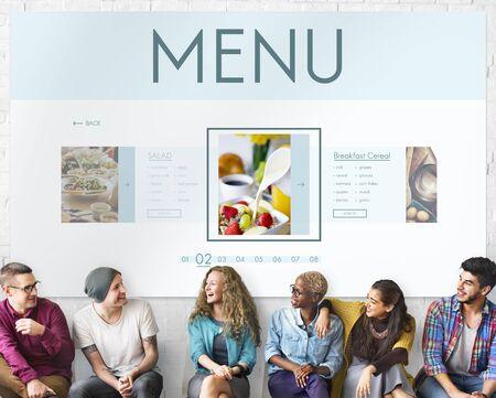 comidas saludables: Concepto de nutrición sana Alimentos Bienestar Estilo de Vida