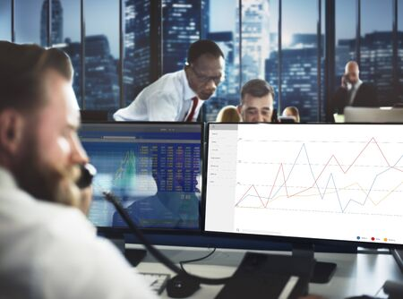 commenting: Business Feedback Results Review Survey Concept Stock Photo