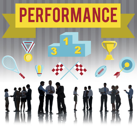fulfilment: Performance Competition Goals Strategy Concept