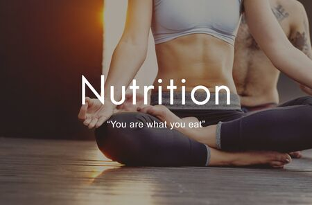 nutritional: Nutrition Diet Healthy Life Nutritional Eating Concept