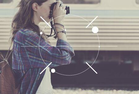 definicion: Enfoque Clearity Definición Determinar inspiración concepto Foto de archivo