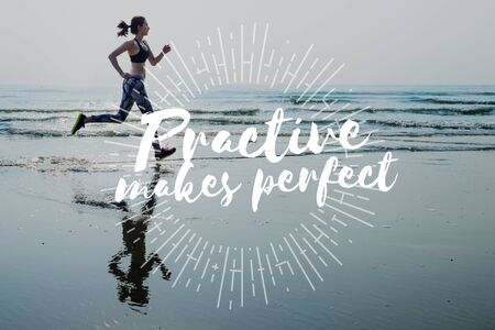 rehearsal: Practice Perfect Method Preparation Rehearsal Concept
