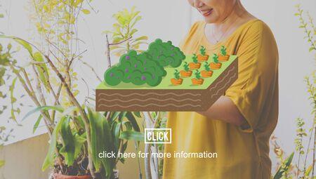 planting: Farm Farming Planting Gardening Grow Concept