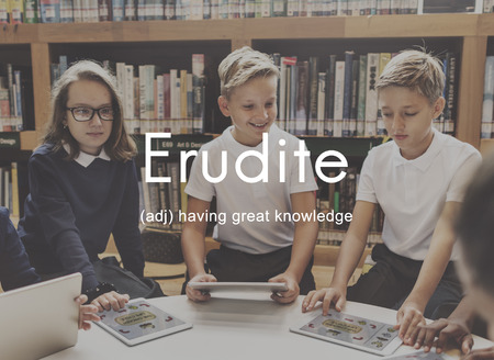 knowledgeable: Erudite Academic Educated Intellectual Knowledgeable Concept