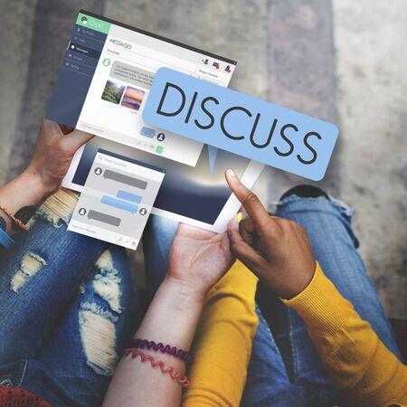 argument: Discusión discutir Argumento concepto de la comunicación