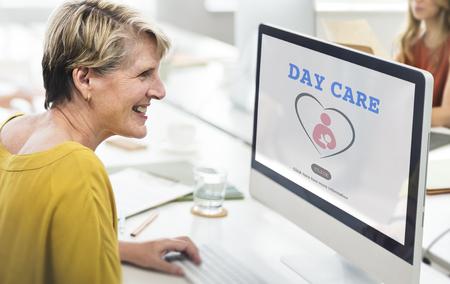 day care center: Day Care Center Child Education Kindergarten Concept Stock Photo