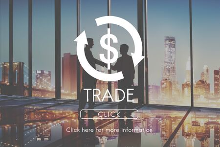 economic activity: Trade Business Cycle Economy Financial Concept