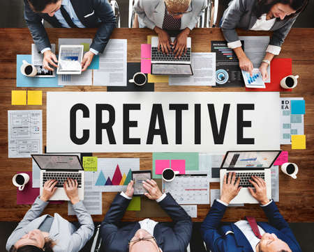 invention: Creative Create Inspiration Invention Ideas Style Concept Stock Photo