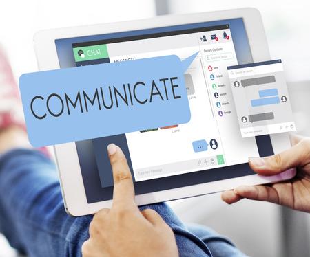 comunicarse: Concepto comunicarse comunicaci�n conversaci�n