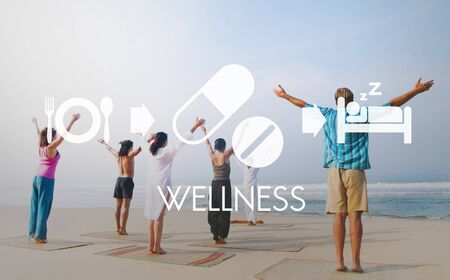 yoga to cure health: Wellness Medical Health Wellbeing Proper Care Concept