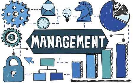 managing: Management Organization Strategy Process Managing Concept