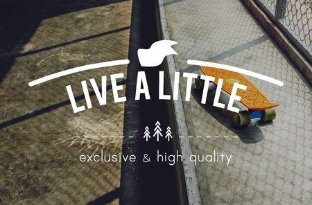 Live Life Lifestyle Enjoyment Happiness Concept Stock Photo