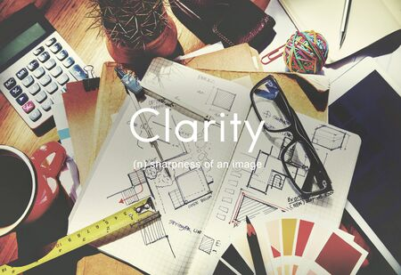 clarity: Clarity Design Clear Creativity Visible Simple Concept