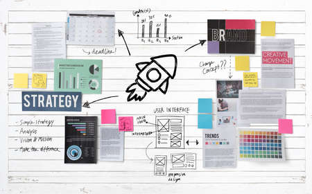 planning: Plan Planning Strategy Business Ideas Concept