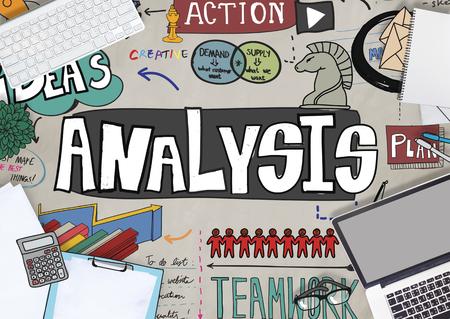 Analysis concept Stock Photo