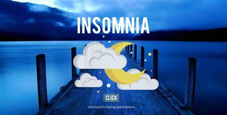 hangover: Insomnia Hangover Bad Dreams Depression Cocnept
