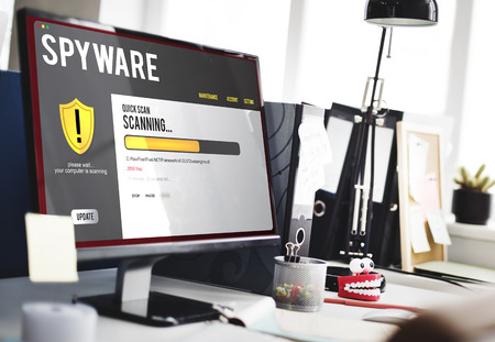 Spyware scanning concept
