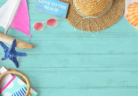 chill: Summer Chill Collection Colorful Leisure Fresh Concept