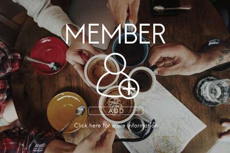 socialize: Add Friends Community Connection Socialize Concept