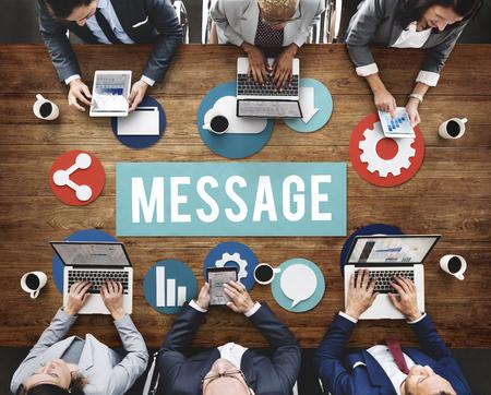 Business message concept