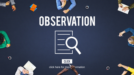 Observation Results Discovery Investigation Concept