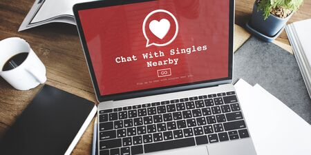 Blind Date: Chat with SIngles Nearby Love Romance Online Concept