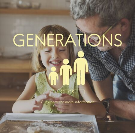 grand daughter: Generations Family Togetherness Relationship Concept