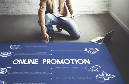 Online promotion concept