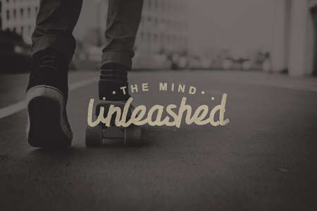 unleashed: The Mind Unleashed Thoughts Vision Creativity Ideas Concept